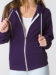 Zip up sweatshirt from American Apparel