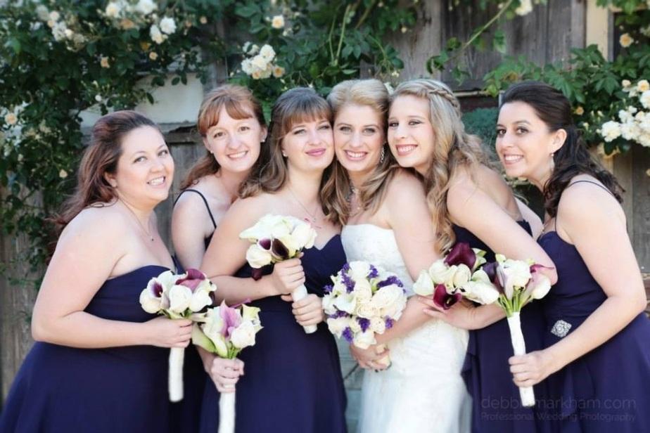 bridesmaids and Katie