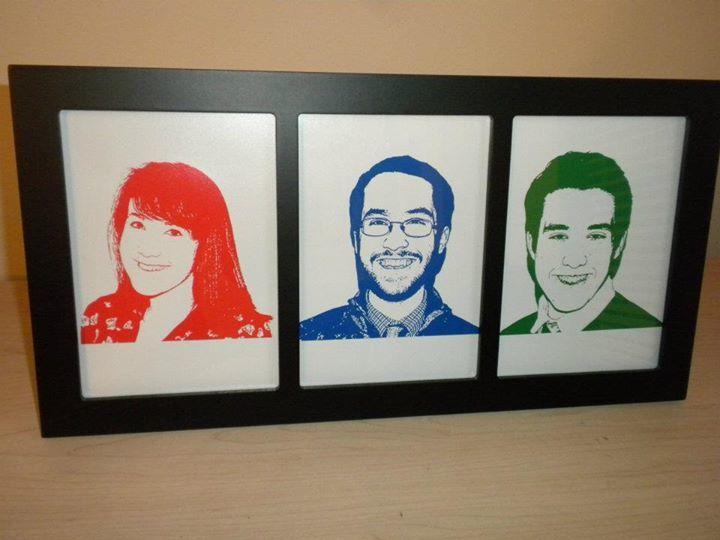 Kerry's family portrait