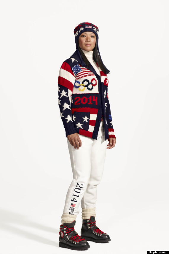 USA Olympics uniforms