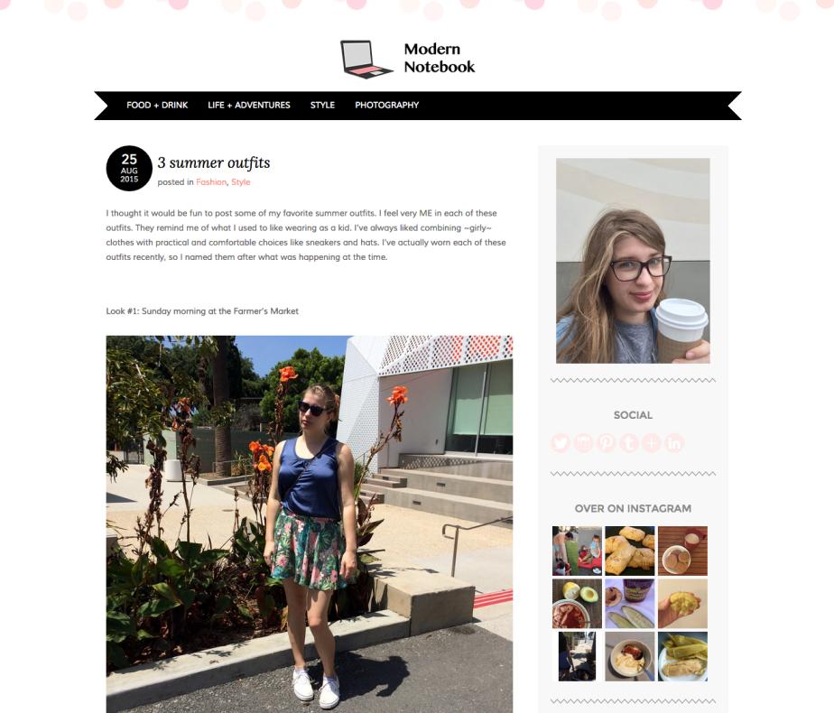 my lifestyle blog