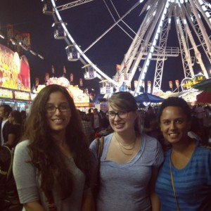 friends at the fair
