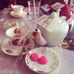 cutesy tea time