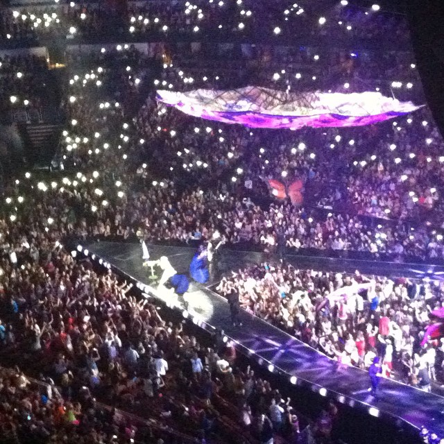 Katy Perry at Honda Center
