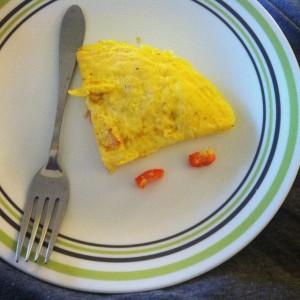 Paul's first omlette
