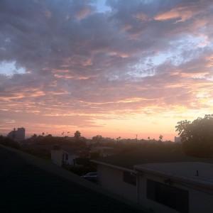 California clouds