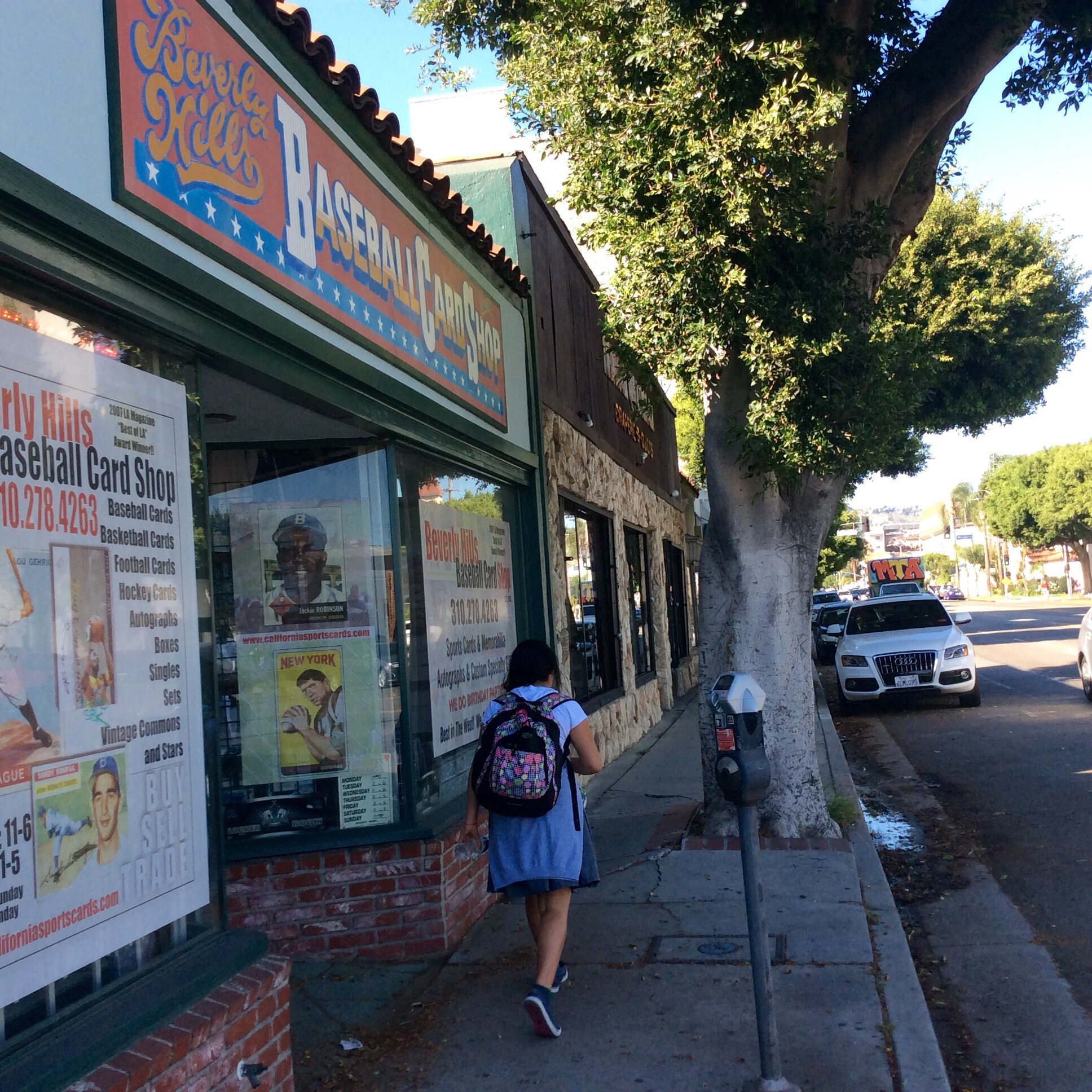 Beverly Hills Baseball Card Shop