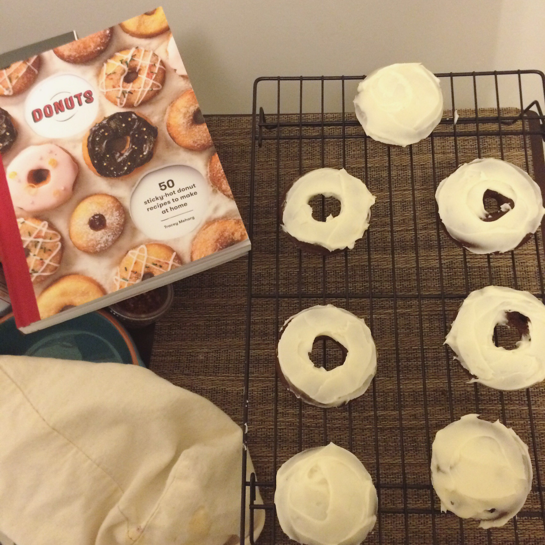 Devil's food cupcakes and doughnuts