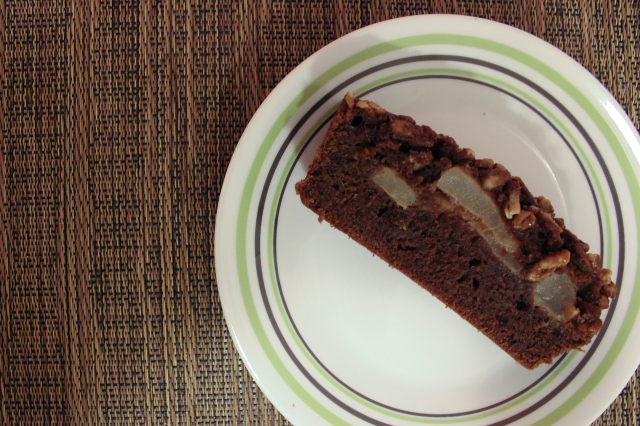 chocolate-pear-loaf