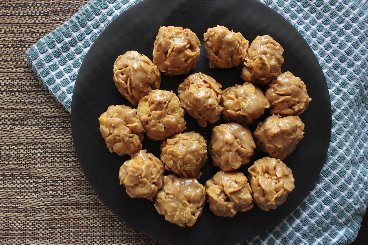 Grandma's recipe: gold nuggets