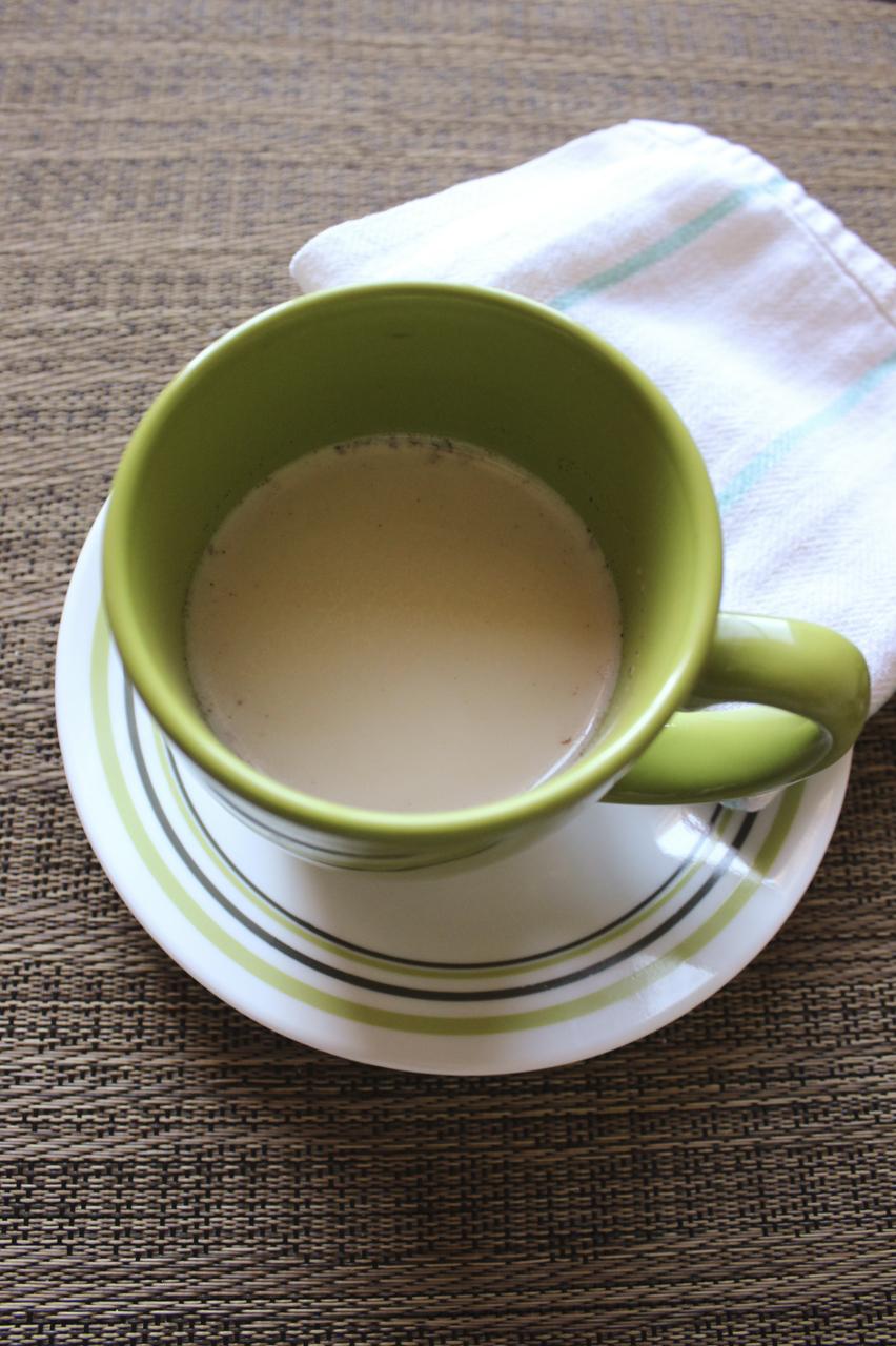 Lavender chai latte