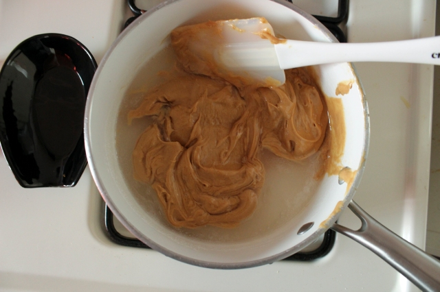 melting-peanut-butter