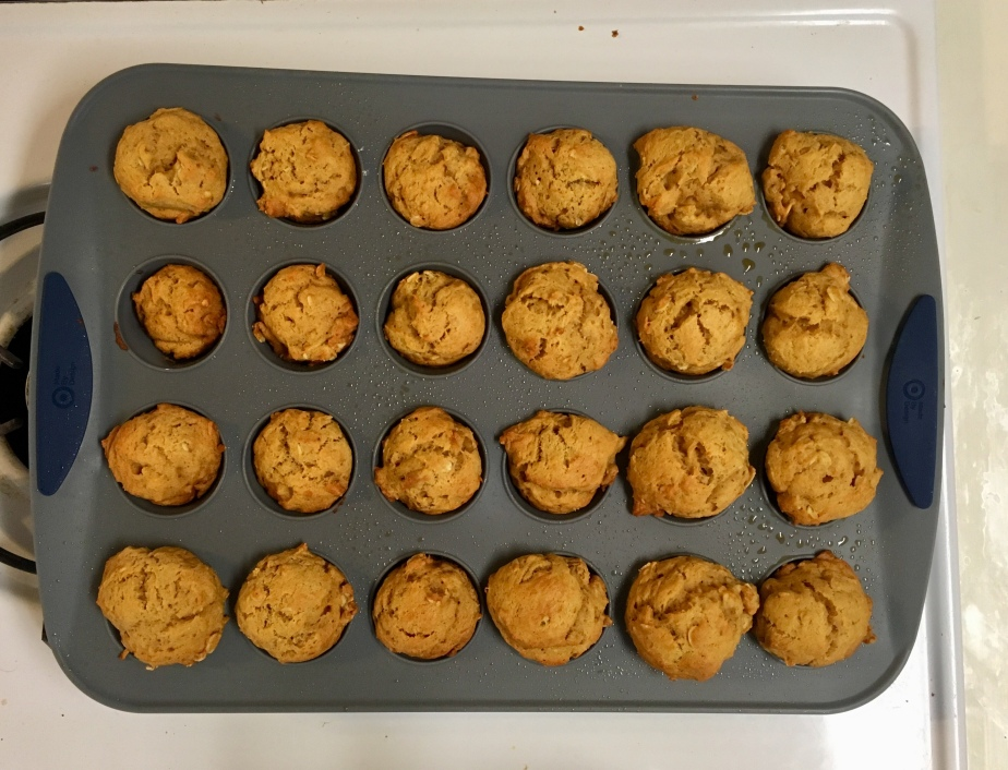 sweet potato oat muffins