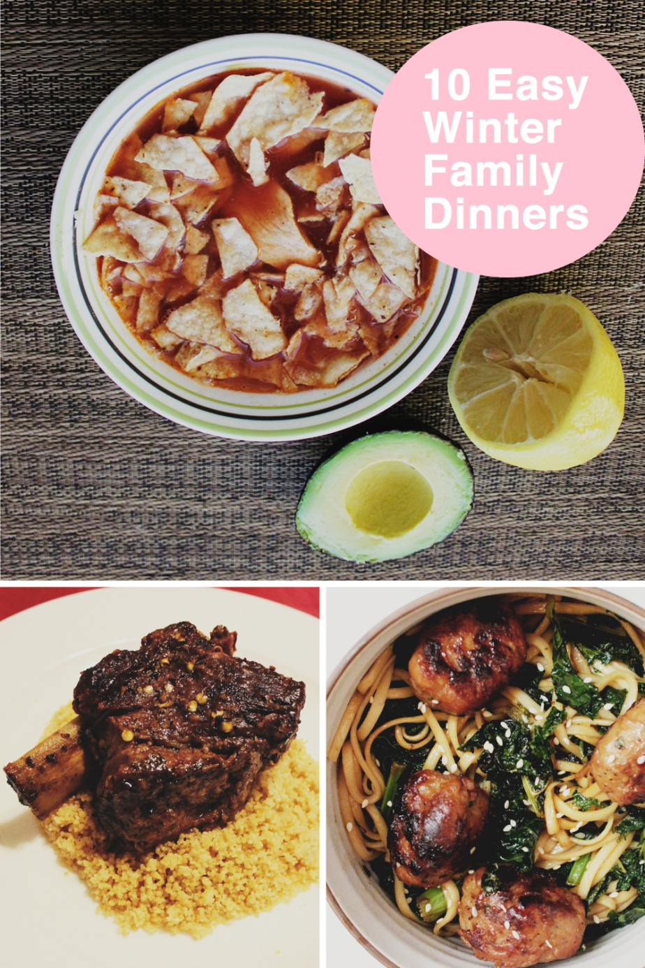 10 favorite winter dinners