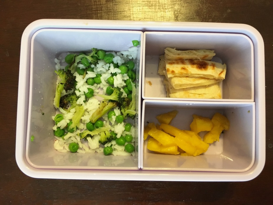 What my baby eats in a day dinner