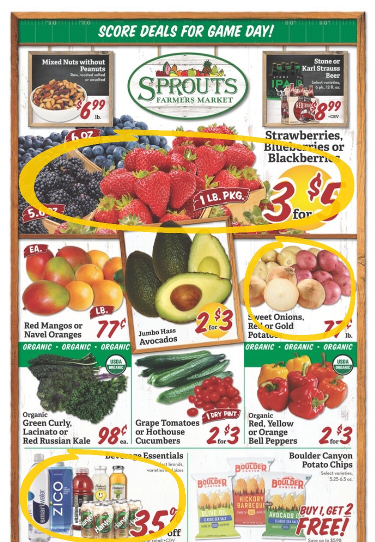 Sprouts Farmer's Market weekly ad