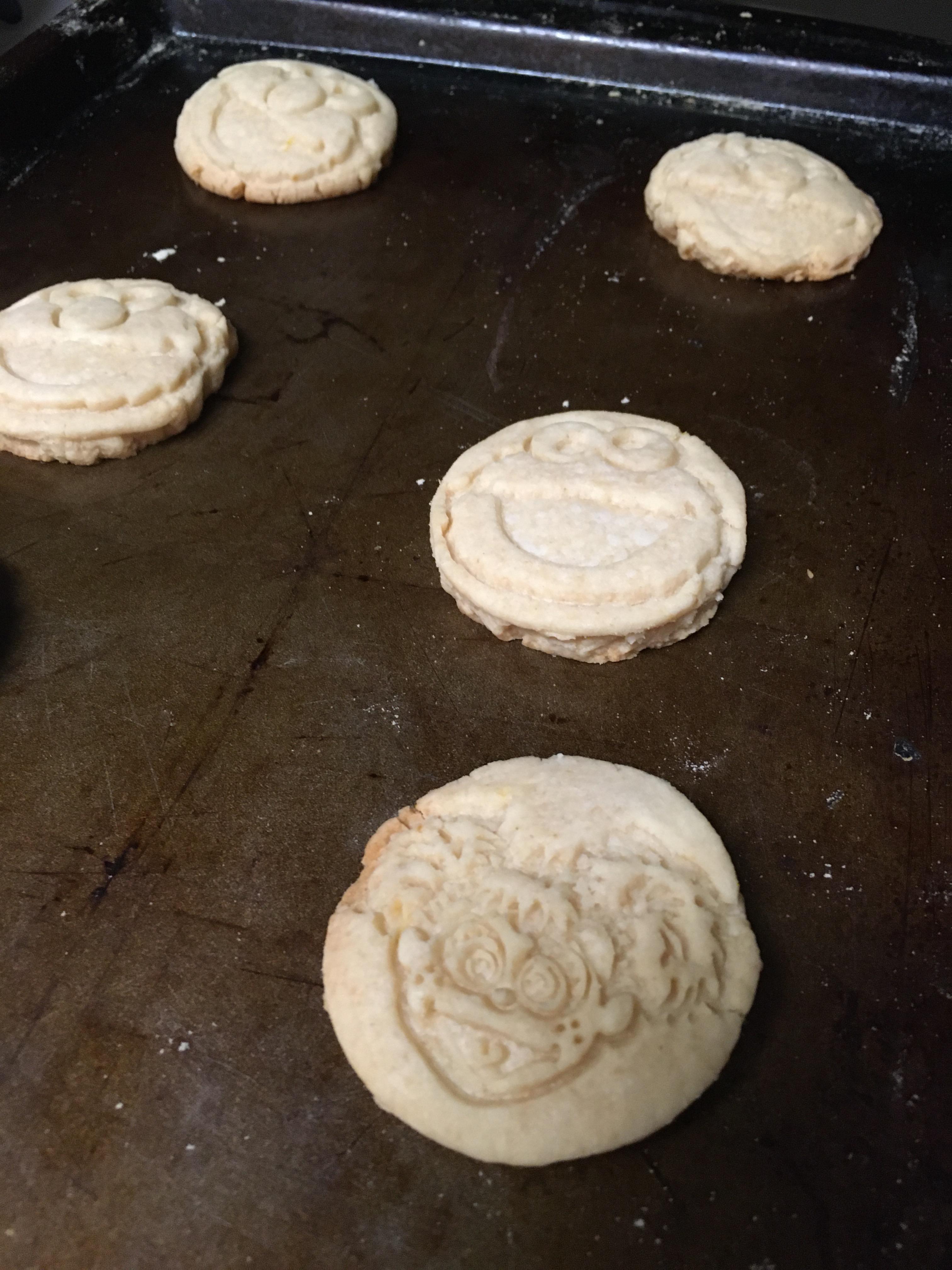 sesame street stamp cookies
